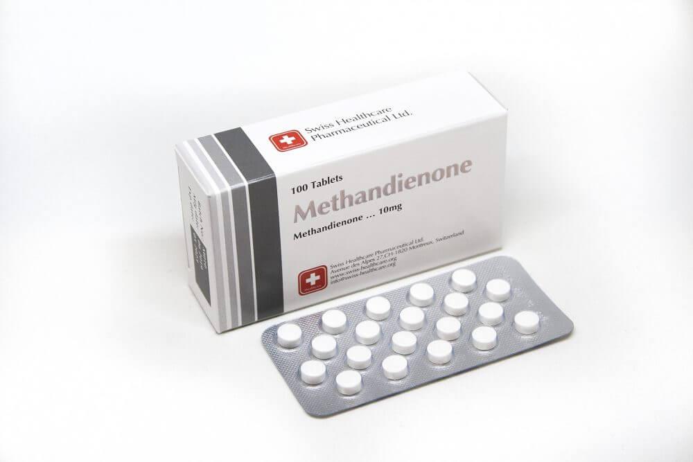 Methandienone Swiss Healthcare 100 tabs [10mg/tab]
