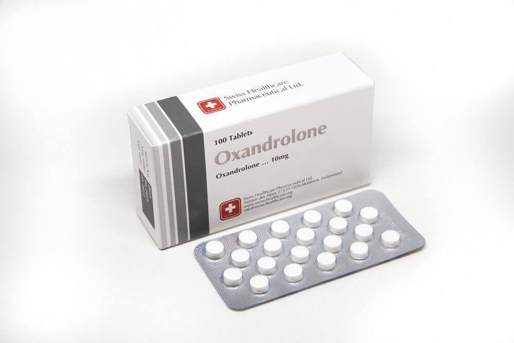 Oxandrolone Swiss Healthcare 100 tabs [10mg/tab]