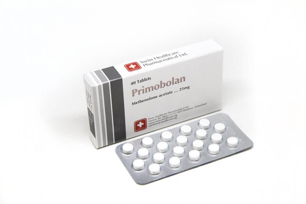 Primobolan Tablets Swiss Healthcare 40 tabs [25mg/tab]