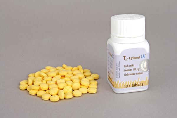 T3 Cytomel LA Pharma 100 tabs [100mcg/tab]