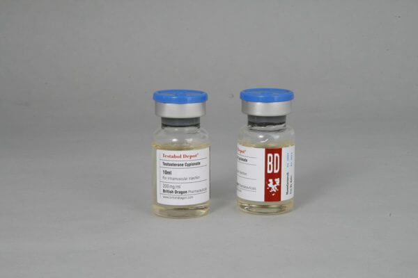 Testabol Depot British Dragon 10ml vial [200mg/1ml]