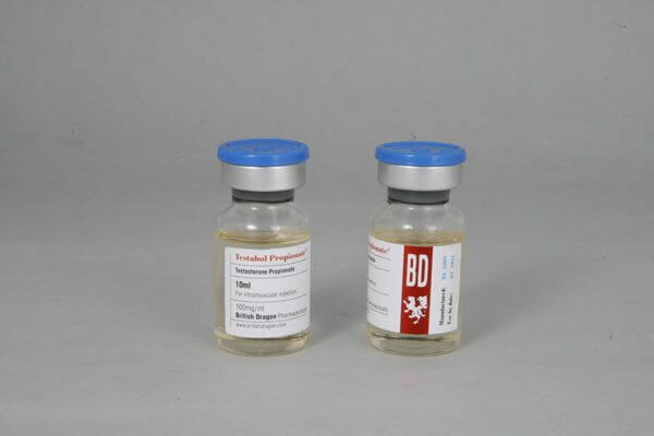 Testabol Propionate British Dragon 10ml vial [100mg/1ml]