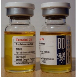Trenabol 75 British Dragon 10ml vial [75mg/1ml]