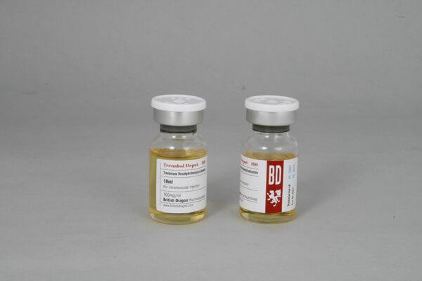Trenabol Depot 100 British Dragon 10ml vial [100mg/1ml]