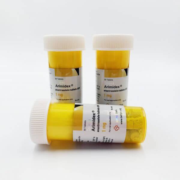 Buy Arimidex (Anastrazole) 50 tablets (1mg/tab) Beligas Pharma SteroidNinja