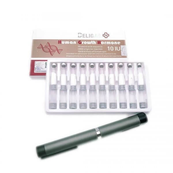 Beligas Human Growth Hormone 10x 10iu Cartridge set with 1xpen