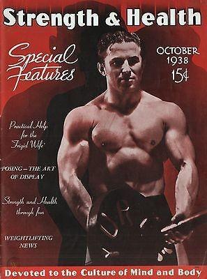 Strength Health October 1938