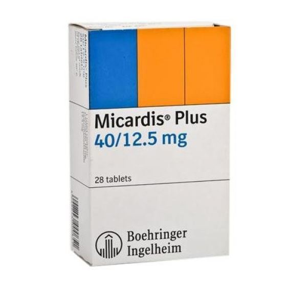 0002070 Micardis Plus Tablets 40125mg 600