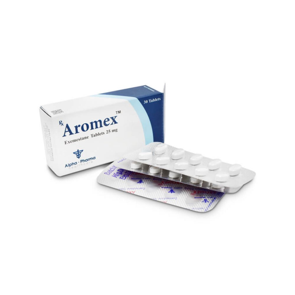 Aromex 25mg 30 Tabs Alpha Pharma 0