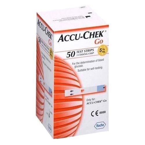 Accu Chek Go Glucometer Strips 500x500