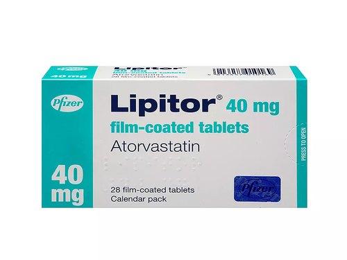 Atorvastatin Lipitor Vastatin Medicines 500x500