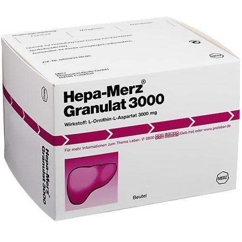 Hepa Merz Granulat 3000 Granulat D07620639 P1