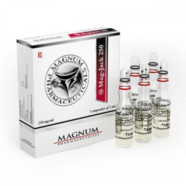 Mag-Jack 250 Androgenic Compound Injection – 250 mg/ml – 5ml vial