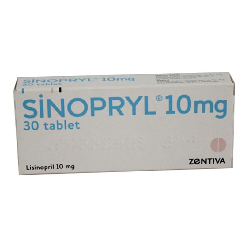 Sinopryl 10 Mg 30 Tb 10 Mg 30 Tb Sanofi