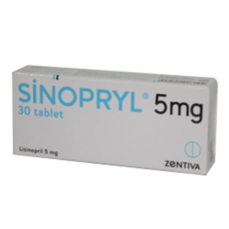 Sinopryl 5 Mg 30 Tb 5 Mg 30 Tb Sanofi