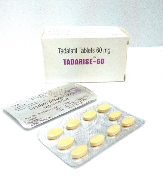 Tadarise 60 Mg Tablets