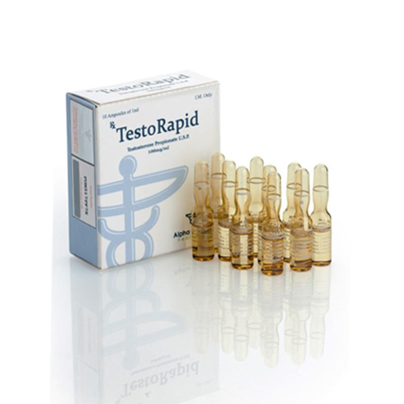 Test Propionate Testorapid Amp 10 Amps 1 Ml 100mgml Alpha Pharma Health Care