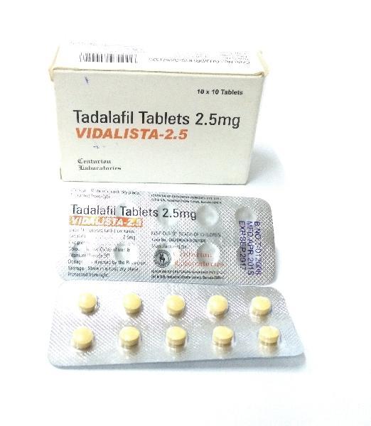 Vidalista 2 5 Mg Tablets