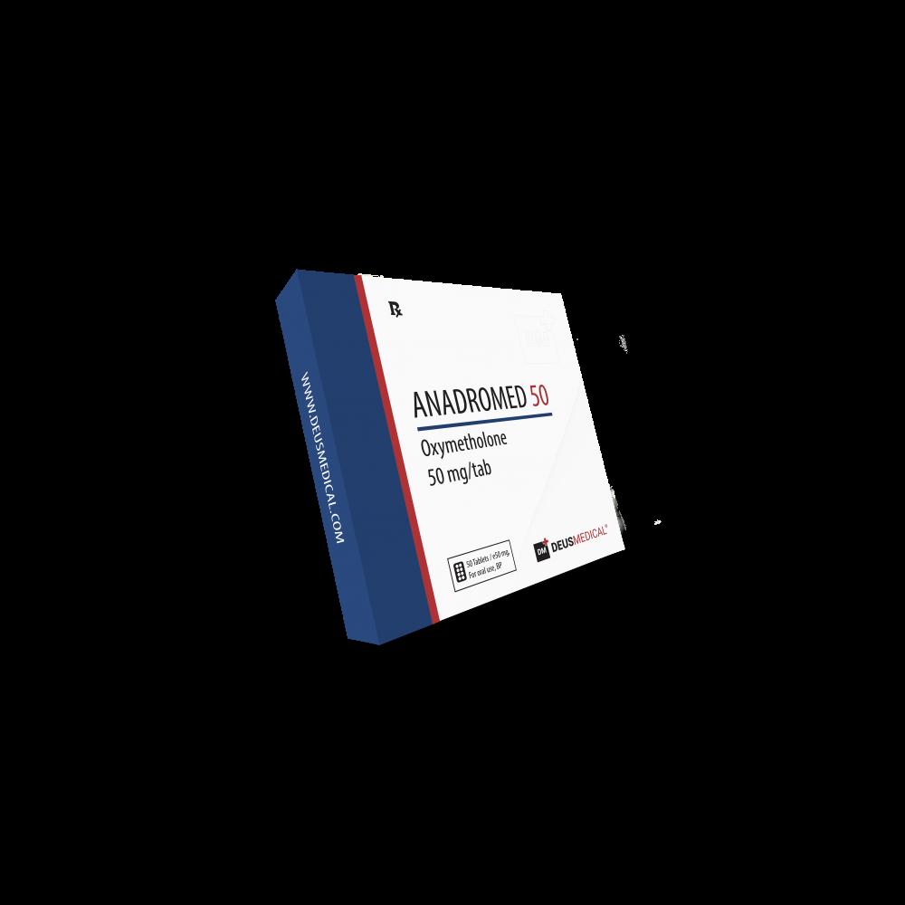Andromed 50 Deusmedical Oxymetholone