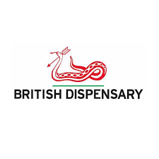 British Dispensary Logo Brand